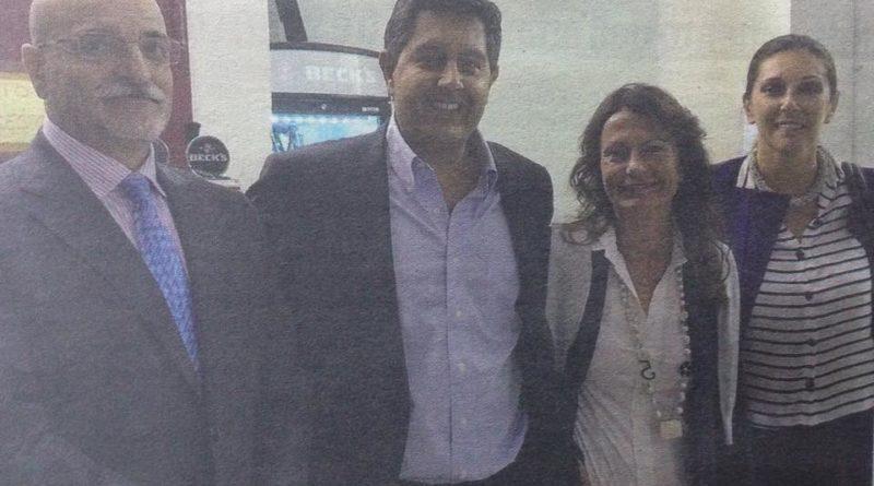 L'ex Vice Sindaco Altilia e Mulatero del Punto con Toti, consigliere di Berlusconi e Porchietto, di Forza Italia